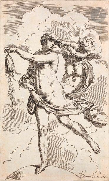 Simone Cantarini (1612-1648) La Fortune....