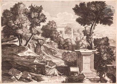 Louis de Châtillon (1639-1734) Suite de six...