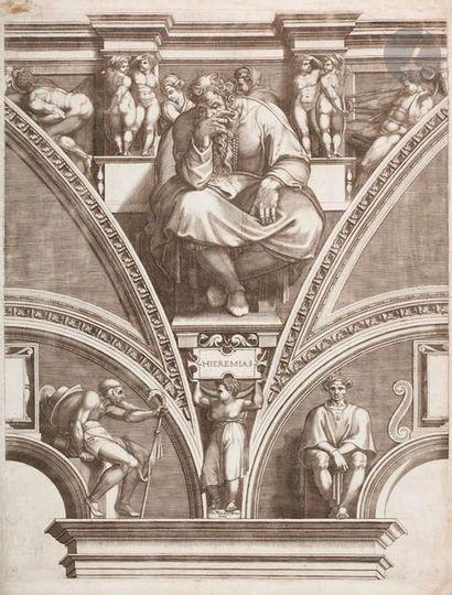 Giorgio Ghisi (1520-1582) La Sibylle d'Érythrée;...