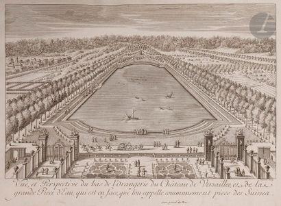 Pierre Le Pautre (1652-1716) et al. Les Plans,...