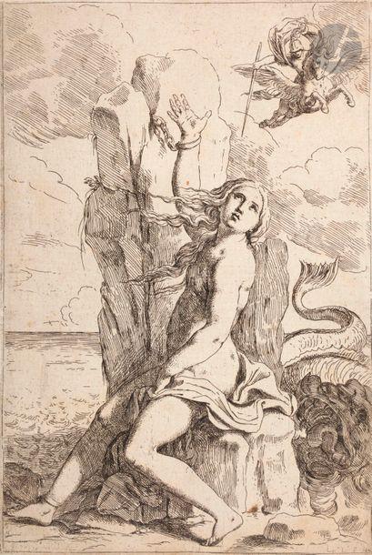 Lorenzo Loli (c. 1612-1691) Persée et Andromède....
