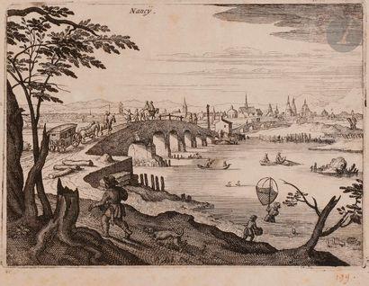 Matthäus I Merian (1593-1650) Vues de villes...