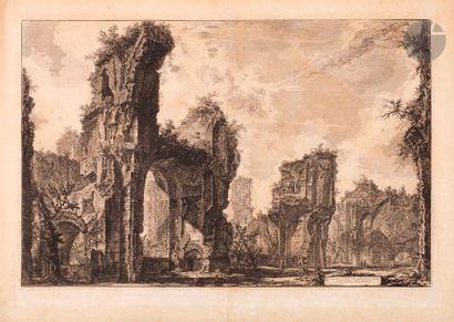 Giovanni Battista Piranesi (1720-1778) Rovine...