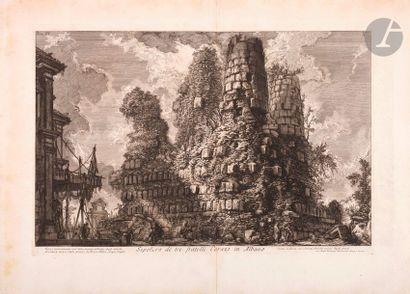 Giovanni Battista Piranesi (1720-1778) Sepolcro...