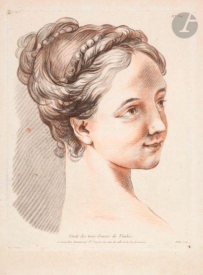 Louis-Marin Bonnet (1743-1793) Tête des Trois...