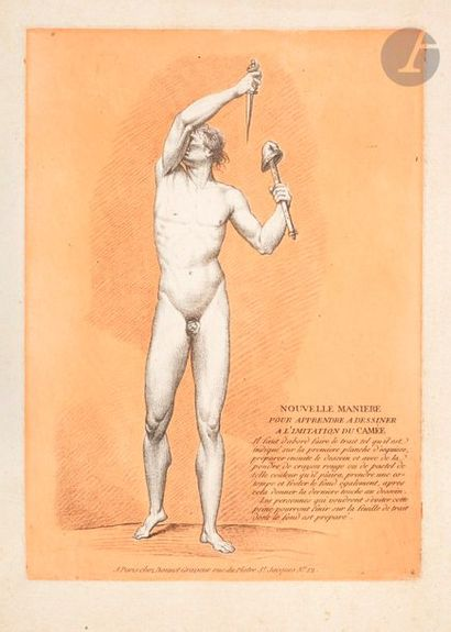 Louis-Marin Bonnet (1743-1793) Sujets divers....