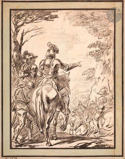 Jean-Charles François (1717-1769) Halte de...
