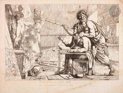 Anonyme fin XVIIIe s. La Satire en leçons...