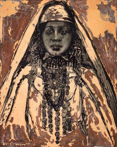 AnonymeFemme du Hoggar. Illustration pour...