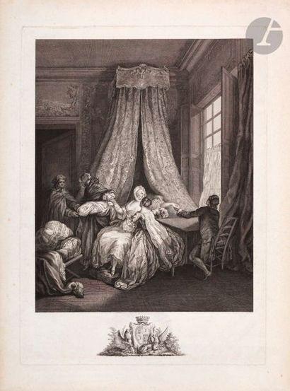 Pierre Antoine Baudouin (1723-1769) (d'après)...