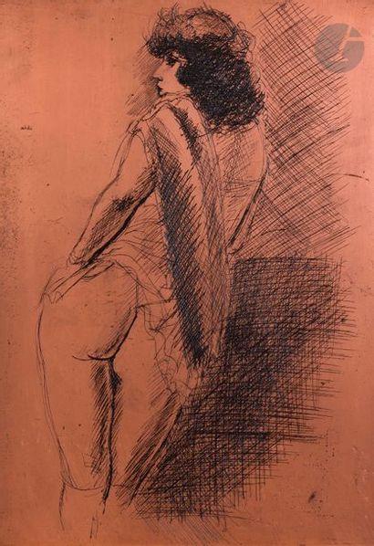 André Dignimont (1891-1965) Femme nue de...