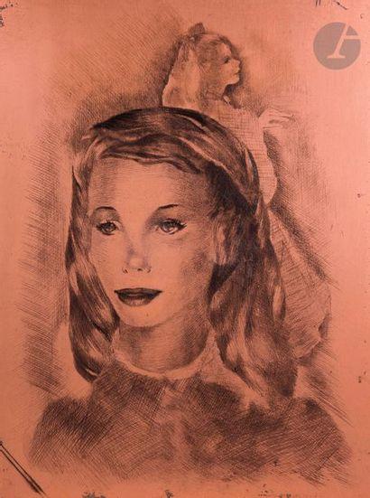 Mariette Lydis (1887-1970) Deux jeunes filles,...