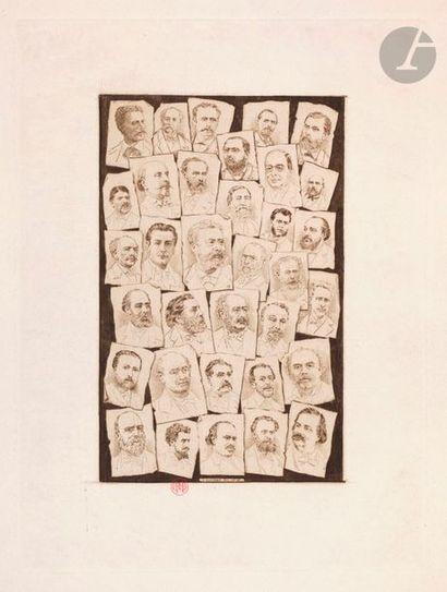 Henri Guérard (1846-1897) Membres du comité...