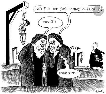 Jean Plantureux dit PLANTU (né en 1951) Iran...