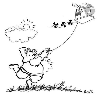 Jean Plantureux dit PLANTU (né en 1951) Nucléaire,...