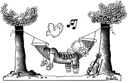 Jean Plantureux dit PLANTU (né en 1951) Musique...