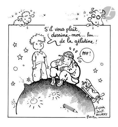 Jean Plantureux dit PLANTU (né en 1951) Agriculture...