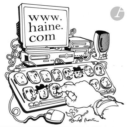 Jean Plantureux dit PLANTU (né en 1951) Internet...