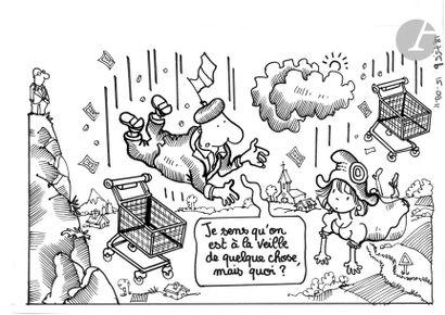 Jean Plantureux dit PLANTU (né en 1951) Politique...