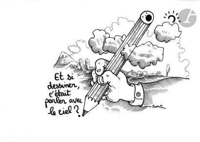 Jean Plantureux dit PLANTU (né en 1951) Société...