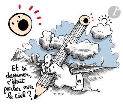Jean Plantureux dit PLANTU (né en 1951) Société - Et si dessiner c'était parler...