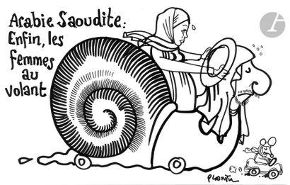 Jean Plantureux dit PLANTU (né en 1951) Religion...