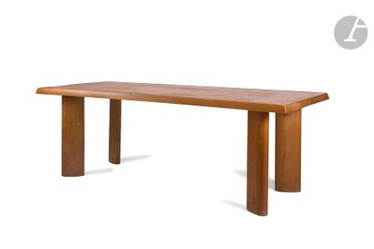 CHARLOTTE PERRIAND (1903-1999) Table à gorge,...