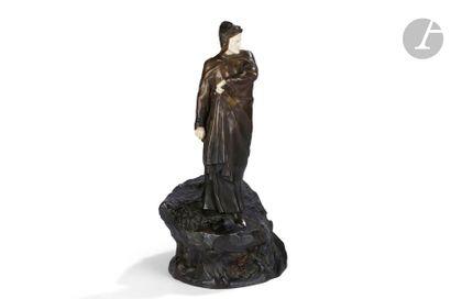 VICTOR-CONSTANTIN DELAIGUE (1878-1968) Dante...