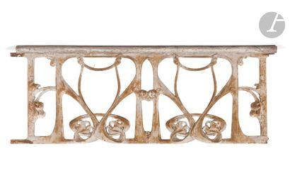HECTOR GUIMARD (1867-1942) GE, version 110cm, modèle créé vers [1905] Ensemble...