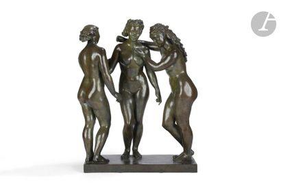 ALFRED AUGUSTE JANNIOT (1889-1969) Les Trois...