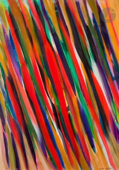 Oscar GAUTHIER (1921-2009) Composition, 1988...