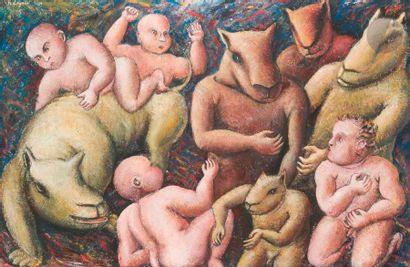 Philippe COGNÉE (né en 1957) Composition,...