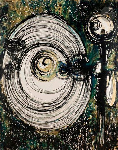 Claude VISEUX (1927-2008) Le Dégoiseur, 1957...