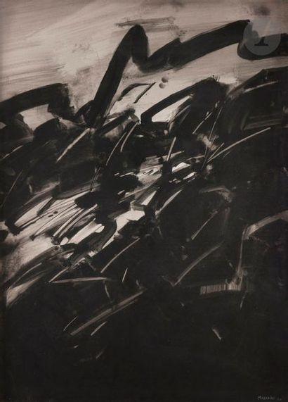 André MARFAING (1925-1987) Composition, 1960...
