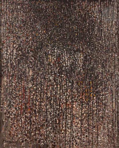 Mario PRASSINOS (1916-1985) Prétextat, 1967 Huile sur toile. Signée en bas à gauche....