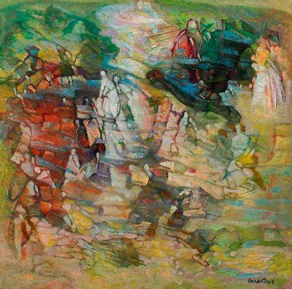 Abdallah BENANTEUR [algérien] (1931-2017)...