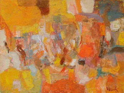 Shafic ABBOUD [libanais] (1926-2004) Composition,...