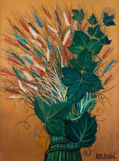 Bibi ZOGBE [libanaise] (1890-1973) Ramo de...