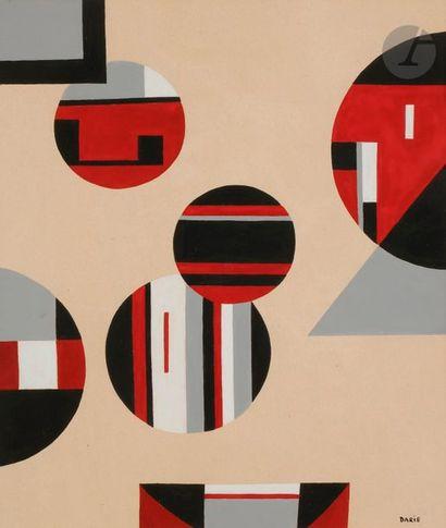 Sandu DARIE [cubain] (1908-1991) Composition,...