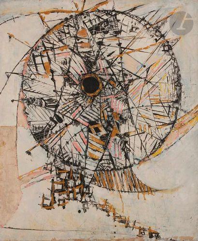 Shiryu MORITA [japonais] (1912-1998) Composition,...