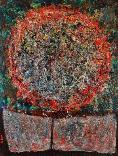 Yuzuru SHOJI [japonais] (1932-1984) Composition,...