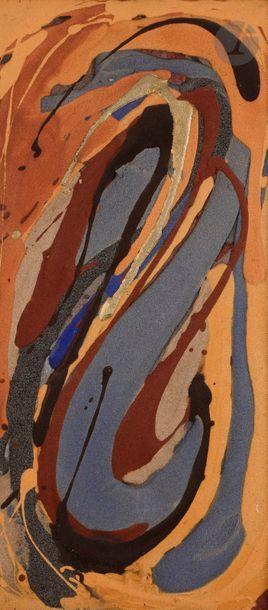 Toshio ARAI [japonais] (né en 1929) Composition,...