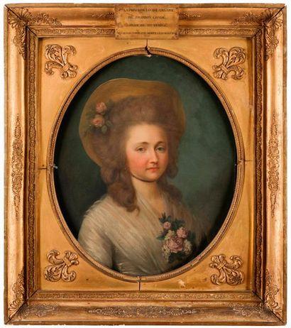 École FRANÇAISE. VERS 1820 Portrait de Louis...