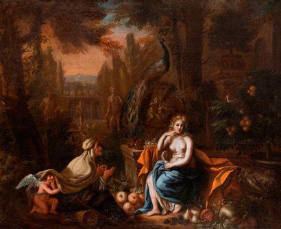 École HOLLANDAISE vers 1670, entourage de...