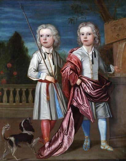 ECOLE du XVIIIème Siècle  Deux frères jumeaux...