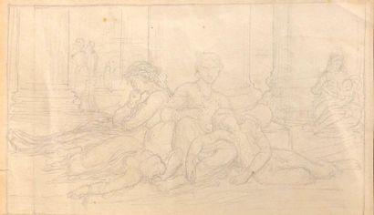 William BOUGUEREAU (1825-1905)  Famille de...
