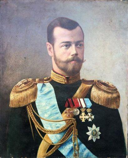 Probablement ECOLE RUSSE Circa 1900  Portrait...