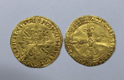 LOUIS XII (1498-1515). Ecu d'or au soleil....