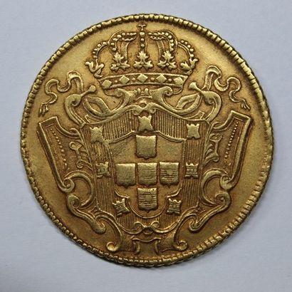BRESIL. JEAN V (1706-1750). 12800 reis. (WC...