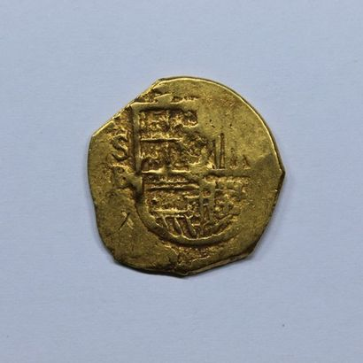 ESPAGNE. PHILIPPE III (1598-1621). 2 escudos....